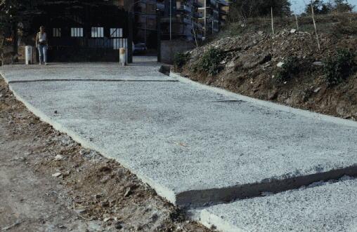 pista di cemento armato