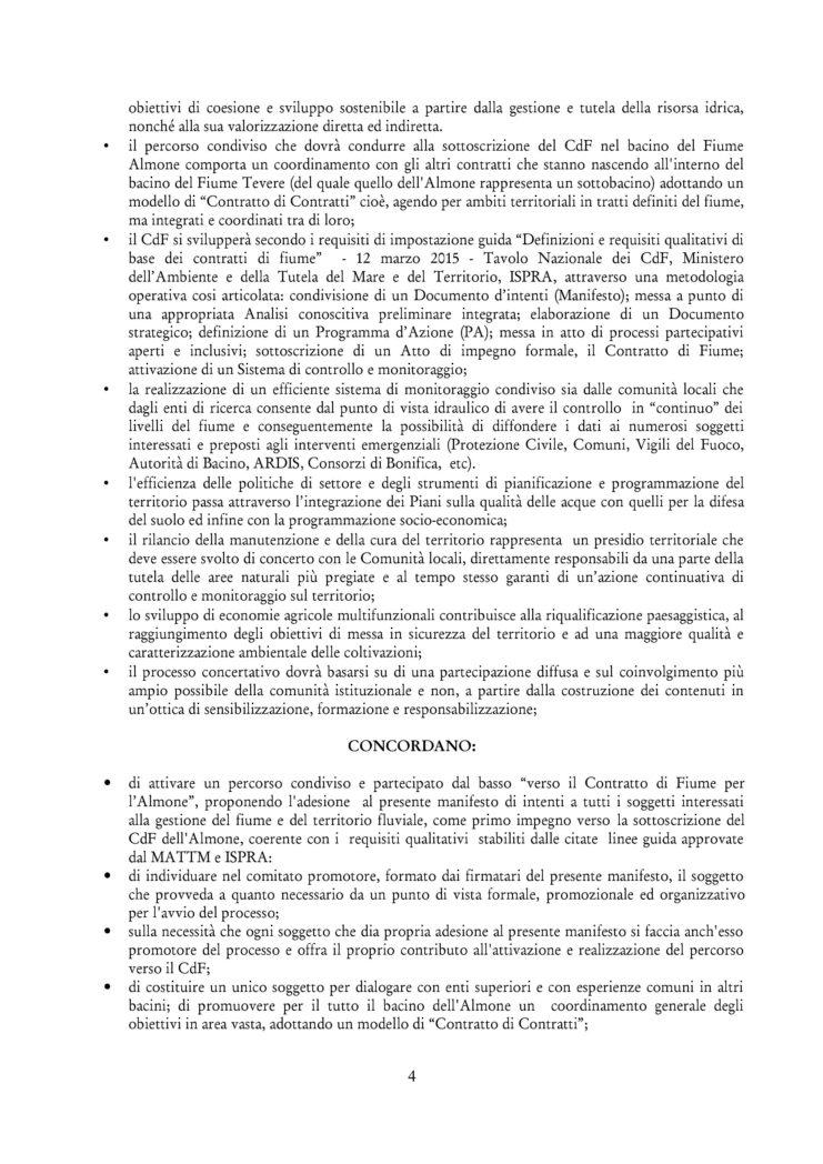Contratto di fiume firmato 4.1