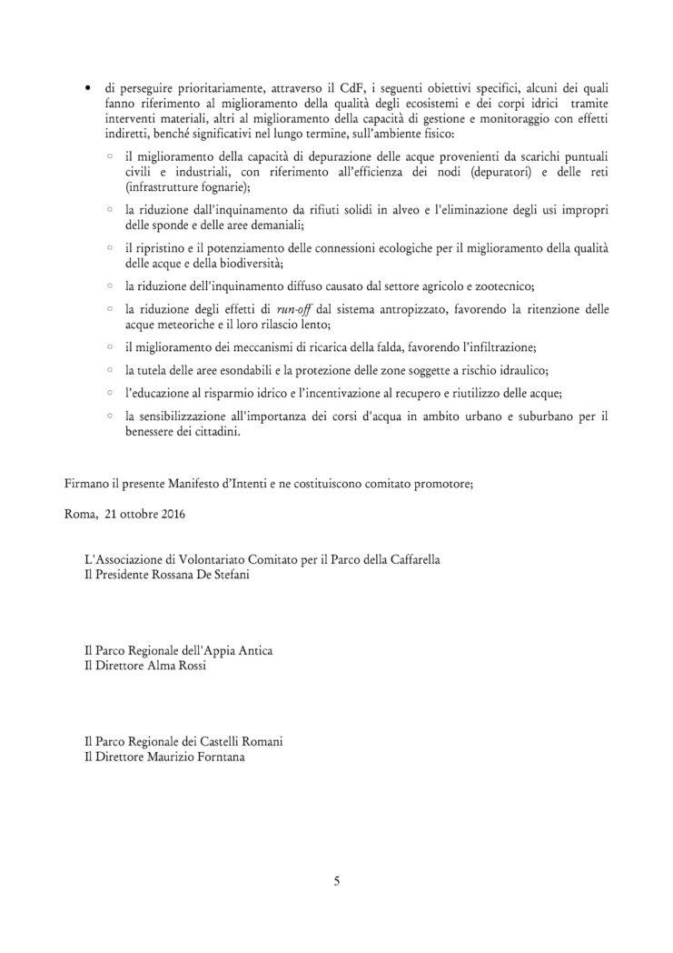 Contratto di fiume firmato 5