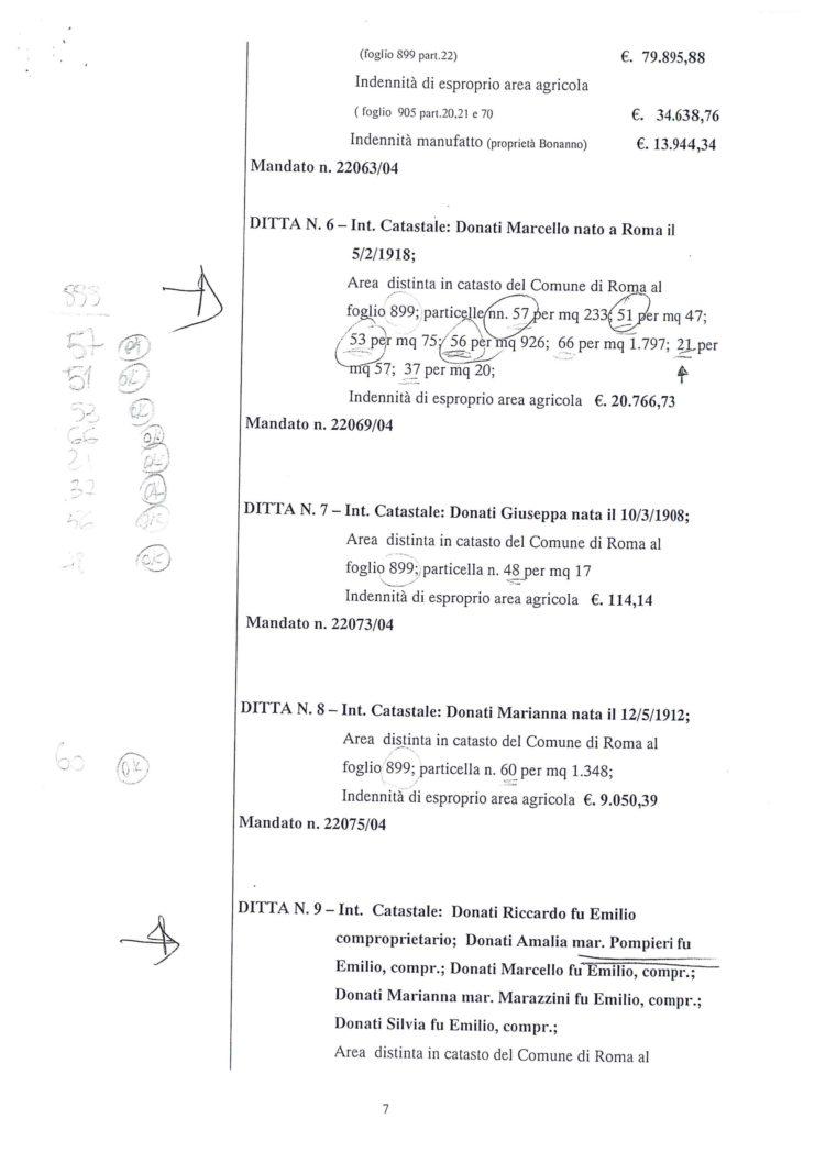 2005 Decreto esproprio Veltroni 14