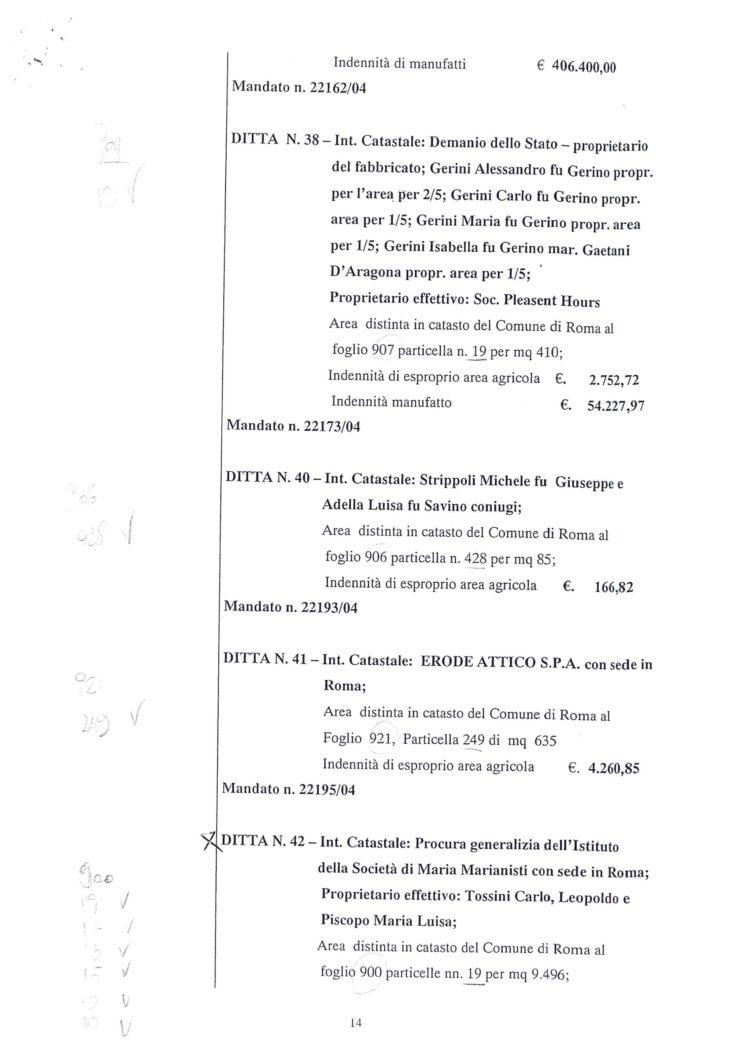 2005 Decreto esproprio Veltroni 5
