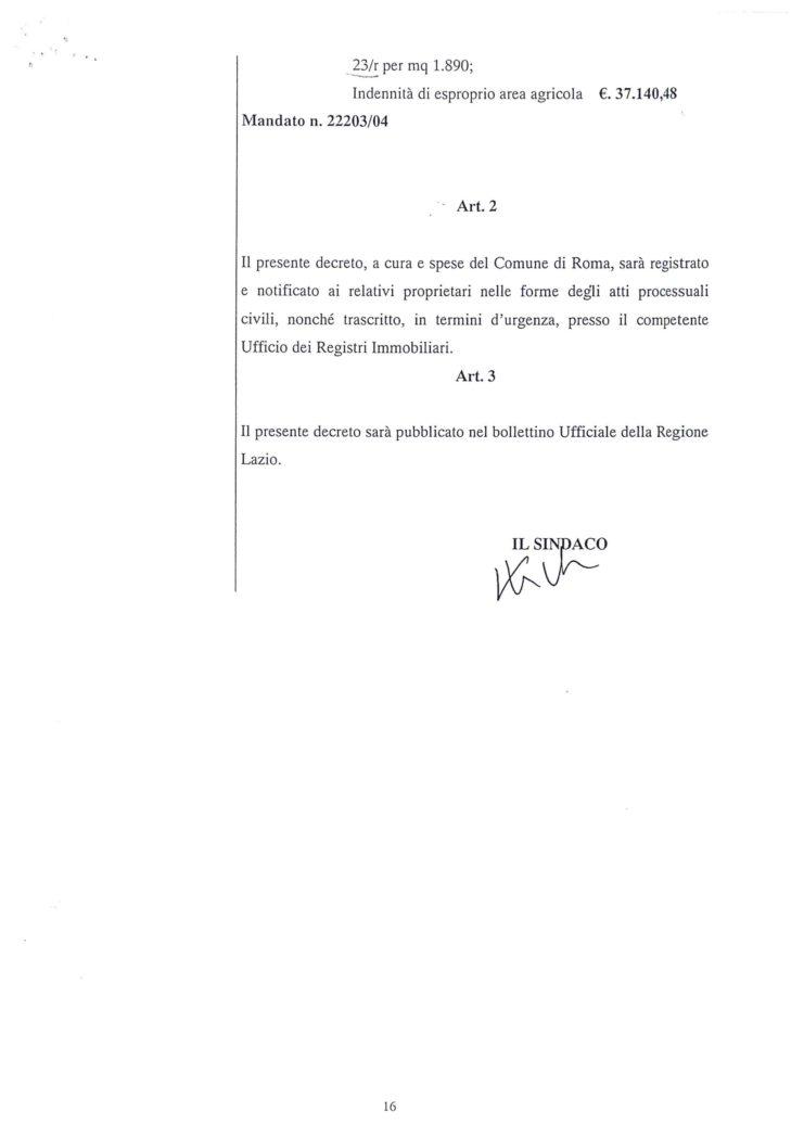 2005 Decreto esproprio Veltroni 7