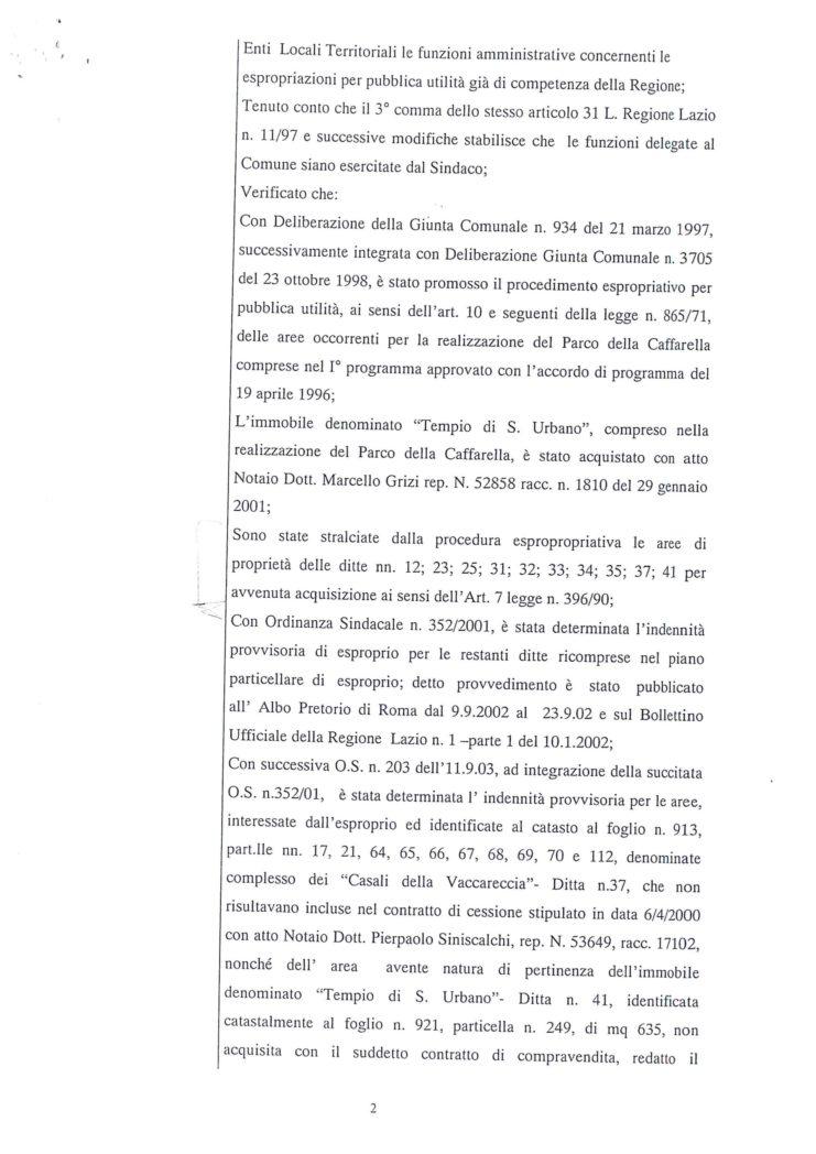 2005 Decreto esproprio Veltroni 9