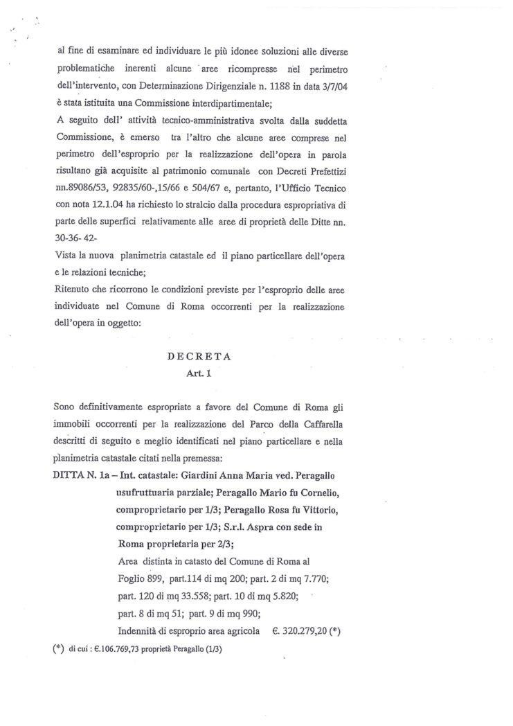 2005 Ordinanza 2 Esproprio Veltroni 11