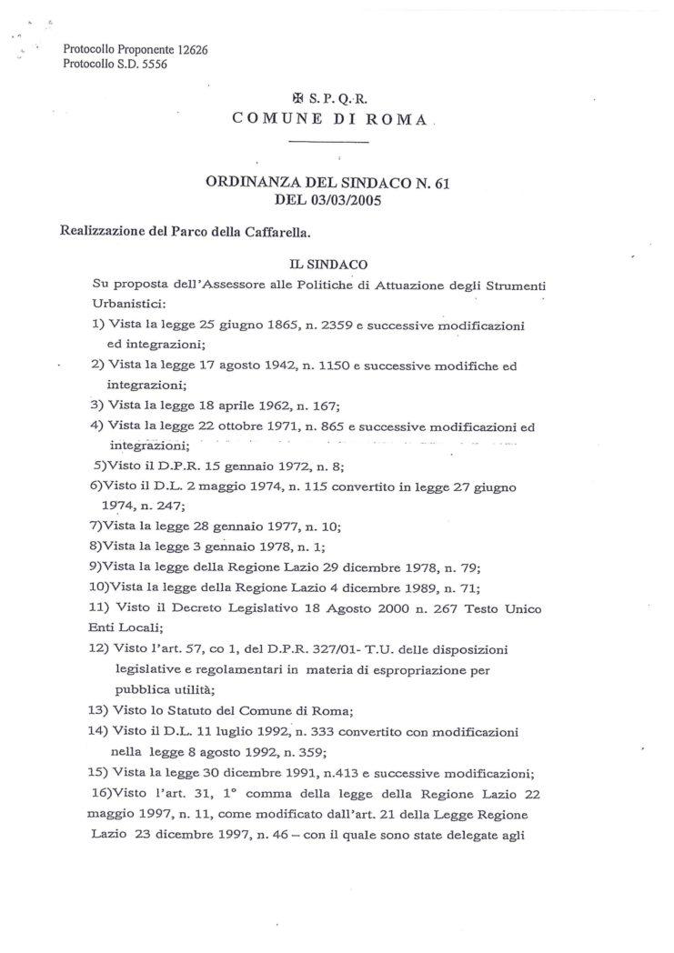 2005 Ordinanza 2 Esproprio Veltroni 9