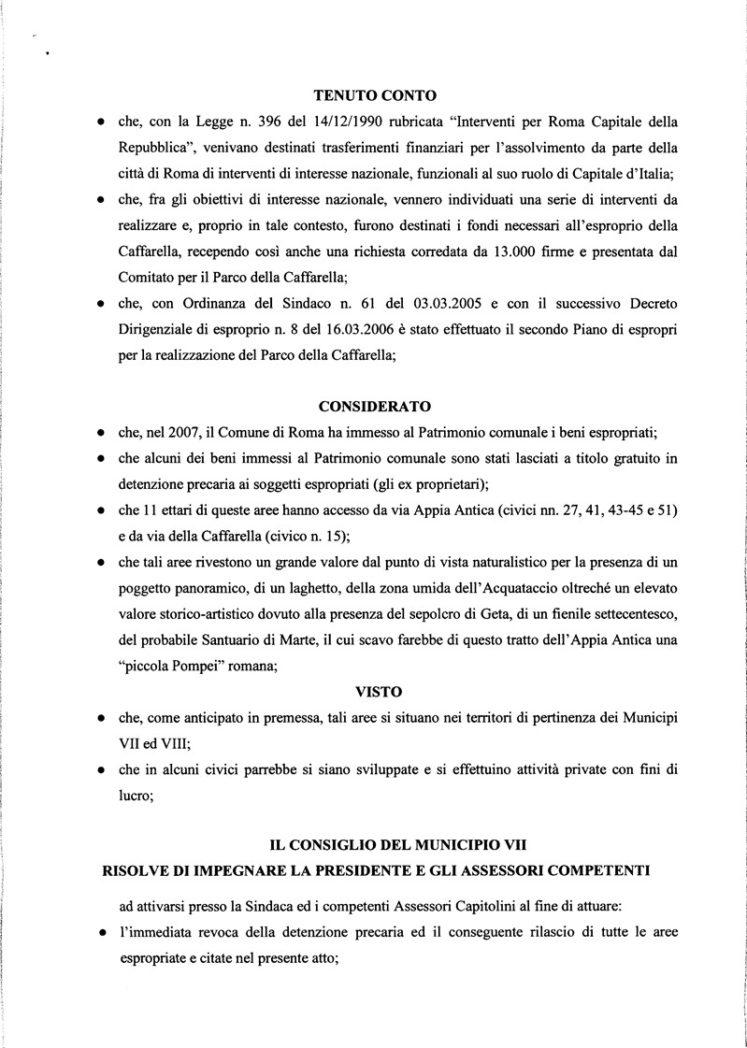 Proposta di risoluzione aree espropriate 31 1 2017 2