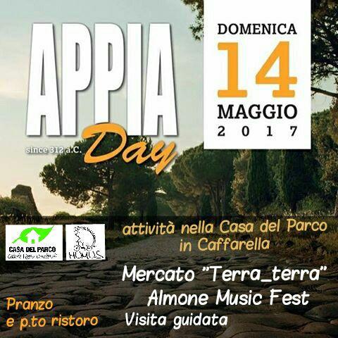 Appia day del 14 maggio 2017