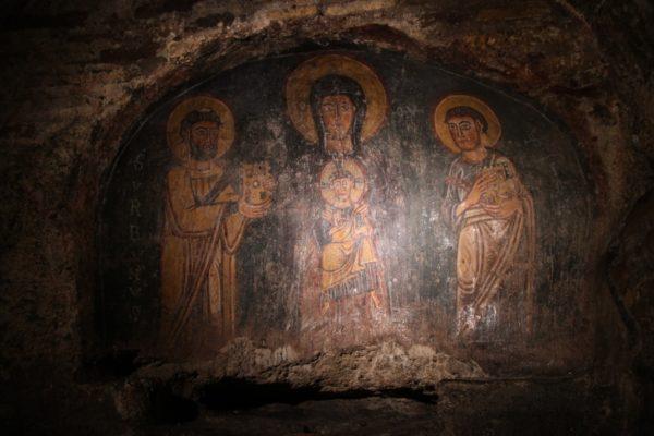 S. Urbano_Affresco-cripta