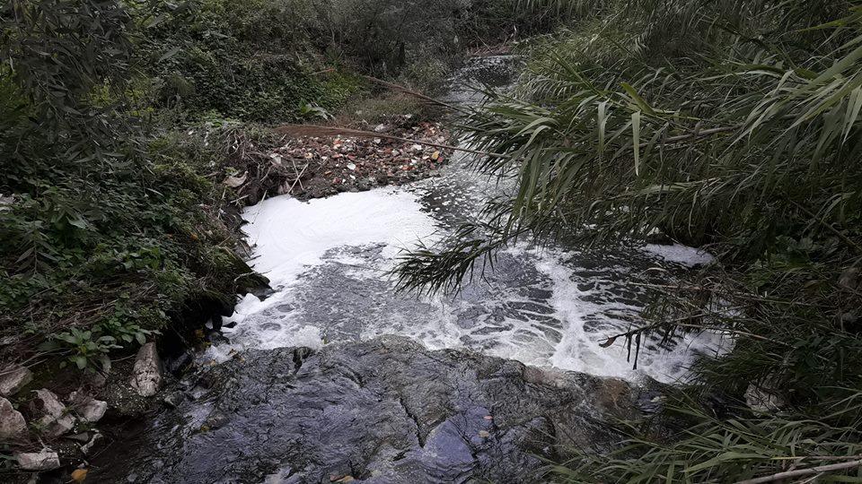 scarichi fiume almone